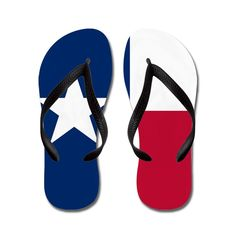 Lone Star flip-flops -- the only suitable alternative to boots this time of year. Mens Flip Flops, Blue Ribbon, Flip Flop Sandals, Cuba, Alternative, Texas, Star, Boots, Summer