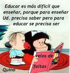 Educar y enseñar
