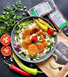 """Szafi Free szénhidrátcsökkentett tortilla vegán köles-""""kolbásszal"""" és rakott tortilla (gluténmentes, tejmentes, tojásmentes, szójamentes) – Éhezésmentes karcsúság Szafival Cobb Salad, Paleo, Gluten, Vegan, Free, Red Peppers, Beach Wrap, Vegans, Paleo Food"""