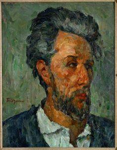 Portrait of Victor Chocquet c. 1876 Paul Cezanne