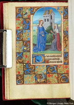 Book of Hours, MS G.4 fol. 39v - Images from Medieval and Renaissance Manuscripts - The Morgan Library & Museum