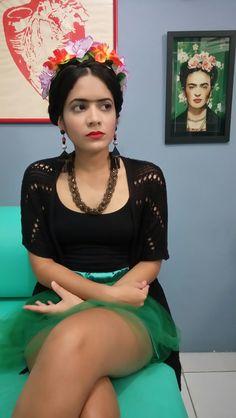 Inspiração Frida Kahlo para festa de Carnaval.