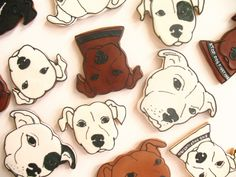 handsome dog cookies