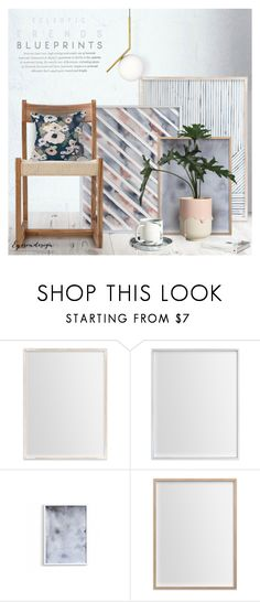 """""""Eclectic Trends ~ Spring Blueprint"""" by eyesondesign ❤ liked on Polyvore featuring interior, interiors, interior design, home, home decor, interior decorating, TastemastersDesignGroup, artscape and eyesondesigninteriors"""