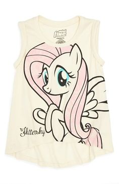 Yes please!! My Little Pony is making a coming back! Hi Lot 'Fluttershy®' top is perfect for the 4-6x girl! Top by Mighty Fine. Available at #Nordstrom