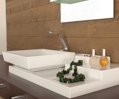 Pure lines and stable shapes - that's the design behind the GRETA Beauty Area. Sanitary By Hafele