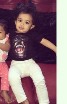 Royalty Brown Chris Brown daughter royalty beautiful little girl baby Brown
