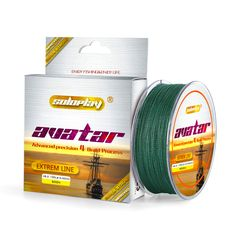 HOT!Free shipping Super Strong Japanese 500m Multifilament PE 4 Strands Braided Fishing Line 10 20 30 40 50 60 80LB