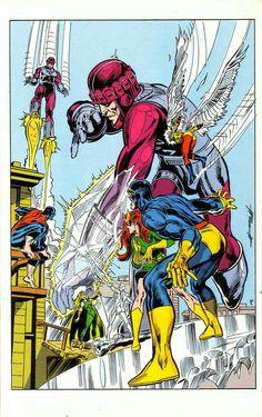 Marvel Comics Art, Marvel X, Marvel Heroes, Anime Comics, Iceman Marvel, Comic Book Characters, Comic Character, Comic Books Art, Book Art