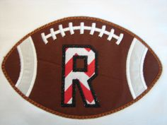 Boys Applique shirt Boys football shirt by 4BlessingsCreations, $22.00