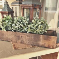 Our handmade rustic planter boxes are crafted out of 1x4 pine in order to show the woods natural, beautiful imperfections. Each one is perfect as a table centerpiece or a festive decorative focal poin