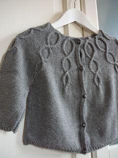 modèle tricot gilet bébé 24 mois