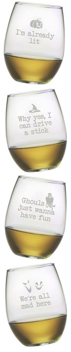 Halloween Drink Glasses