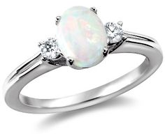 OPAL. opals, mother of pearl and turquoise are my faves.