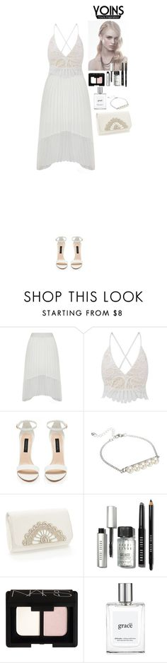 """""""Go white Yoins"""" by eliza-redkina ❤ liked on Polyvore featuring Forever New, Bobbi Brown Cosmetics and NARS Cosmetics"""