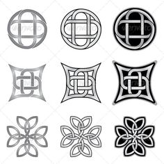 Celtic Knots Models and Patterns  #GraphicRiver         Collection of ornamental celtic patterns. These endless shapes are made with precision, and they are Easy to color and modify.  The archive include:   EPS-10 compatible vector image file,  Adobe Illustrator AI file,  High resolution JPEG image file (5000×5000 pixels),  High resolution PNG image file (5000×5000 pixels) with transparency   Some of my collections          Created: 2November13 GraphicsFilesIncluded: TransparentPNG #JPGImage…