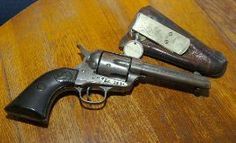 Texas Ranger Ira Aten's Colt Quickdraw Model Single Action Army Revolver