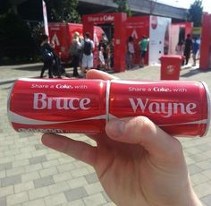 Share a Coke...with BATMAN.