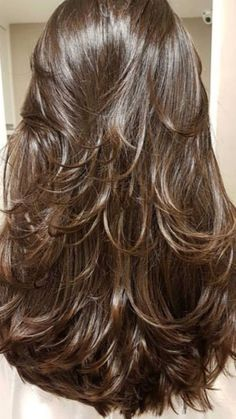 why you will squander your time hunting all over down your best haircut thoughts where the main best alternatives are accessible in your grasp. truly these 9 flawless layered hairdo for long hair… Long Face Hairstyles, Haircuts For Long Hair, Long Hair Cuts, Cool Haircuts, Straight Hairstyles, Thin Hair, Celebrity Hairstyles, Wedding Hairstyles, Party Hairstyle