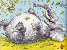 My favorite children's book! Stand Back Said the Elephant, I'm Going to Sneeze.
