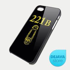 Sherlock Holmes 221B Street Door iPhone 5 Case