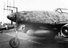 Me 262 1-A with Neptune radar