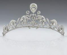 Tiara of the Counts de Lannoy in Belgium