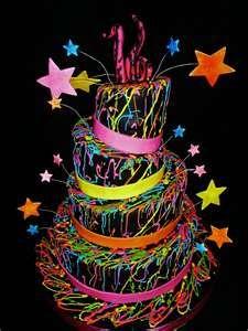 cake idea-super fun birthday cake idea!