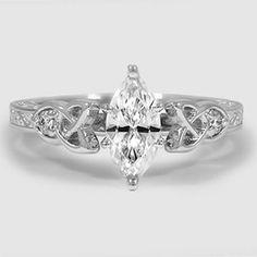Platinum Aberdeen Diamond Ring