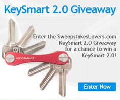 All this month, tell us why you would like to win a KeySmart and you could win a Titanium 2.0 Edition Standard or a KeySmart 2.0! Enter daily for more chances to win.