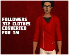 As promised, I converted all of my 3t2 clothing followers gifts from AM to TM…