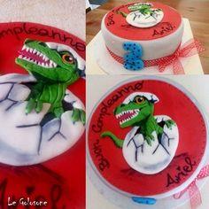 T Rex cake T Rex Cake, 2d, Cakes, Desserts, Tailgate Desserts, Scan Bran Cake, Kuchen, Dessert, Postres