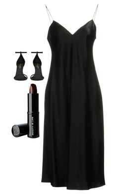 """""""Untitled #5560"""" by adi-pollak ❤ liked on Polyvore featuring Yves Saint Laurent and Beauty Is Life"""