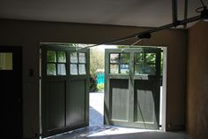 Out-Swing Carriage garage Doors - traditional - Garage And Shed - San Francisco - Castle Rock Construction Shed Design, Garage Design, Garage House, Car Garage, Carriage Garage Doors, Castle Rock, Detached Garage, Mobile Home, Garages