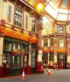 Leadenhall, England - The real Diagon Alley (Harry Potter)