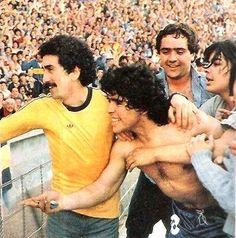 Boca Campeón 1981. Festeja el pueblo xeneize