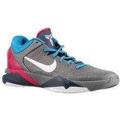 separation shoes 85cef d6ff1 Nike Kobe VII - Men s - Basketball - Shoes - Cool Grey White Thunder Blue  Fireberry - 10.5