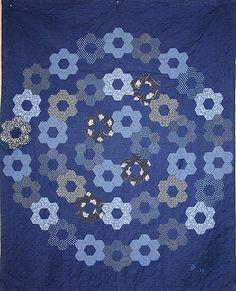 Hexie Circle quilt
