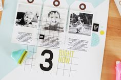 Tutorial: Using Tags on a Layout | Kelly Noel at @studio_calico