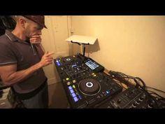 DJ MIXING LESSON ON OLD SCHOOL DISCO PIONEER XDJ-RX: By DJ Tutor #Ellaskins