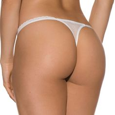 Delicate Lace Thong