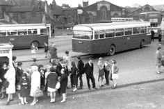 Longton bus station Bus Coach, Bus Station, Stoke On Trent, Local History, Long Time Ago, Coaches, Buses, Old Photos, The Past
