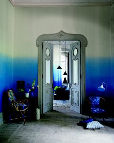 Entering the blue zone, Tricia, Tricia, Tricia...............