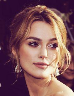 Keira Knightley gorgeous makeup