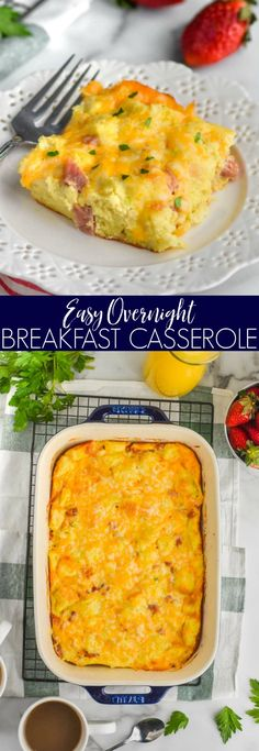 Ham and Cheese Overnight Breakfast Casserole is a mouth watering, easy brea. This Ham and Cheese Overnight Breakfast Casserole is a mouth watering, easy brea. This Ham and Cheese Overnight Breakfast Casserole is a mouth watering, easy brea. Brunch Ideas For A Crowd, Breakfast For A Crowd, Breakfast Dishes, Best Breakfast, Breakfast Recipes, Morning Breakfast, Wedding Breakfast, Brunch Wedding, Breakfast Ideas