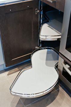 lemans storage lazy susan #kitchen #cabinets #lazysusan
