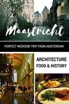 Visiting the Netherlands? Don't miss Maastricht, the beautiful city that is a Dutch architecture, food, and history gem that is a favorite of many Dutchies. It's only 2.5 hours by train from Amsterdam, perfect for a romantic weekend away or a day trip with lots of things to do! Get a FREE map, itinerary (with tips for regional food & a beautiful church bookstore), and travel advice for experiencing Limburg at its foodie best.: