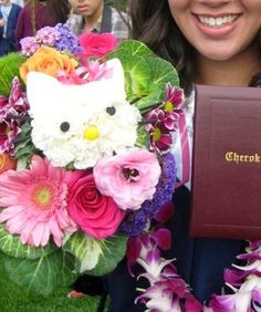 Hello Kitty floral bouquet
