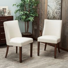 Hamilton Curved-Back Dining Chair 2-Pack $249 JJ