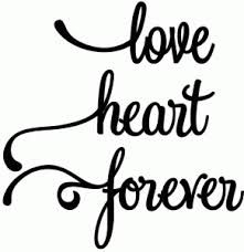 silhouette love heart - Pesquisa Google